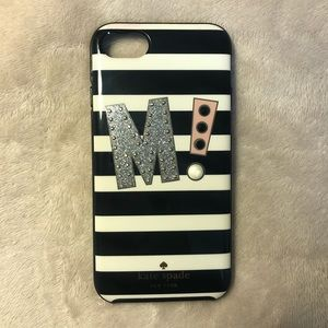 Kate Spade Initial iPhone Case for 7/7s/8/8s